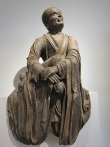 Statue from Asian art collection