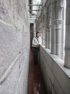 Susie in the bell tower