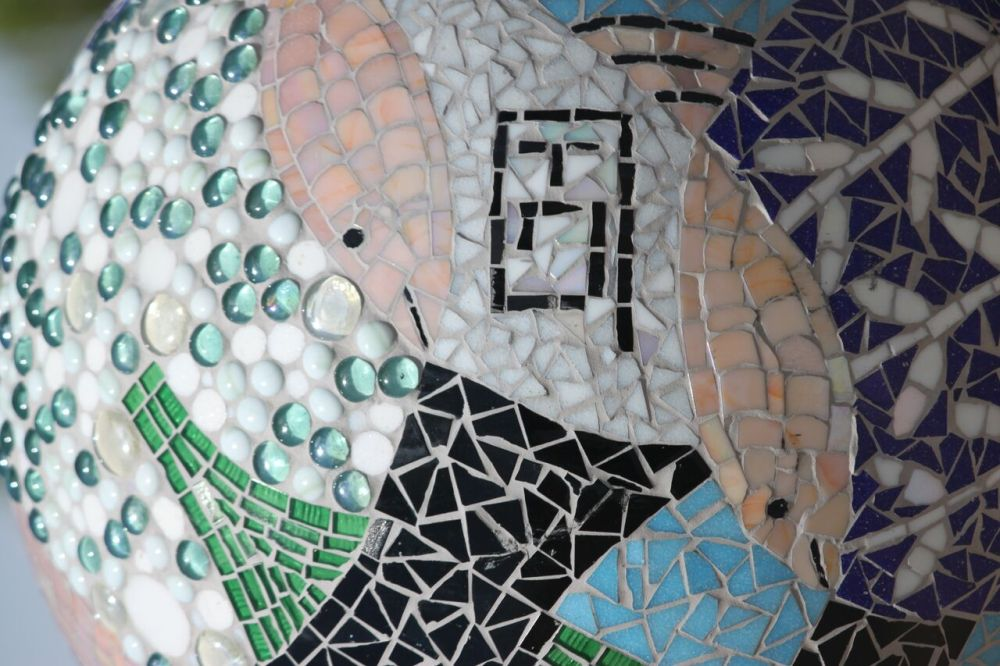 Tiled sculpture 2