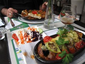 Turkish food on Sleepstraat