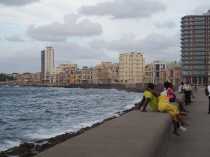 View along the Malecón
