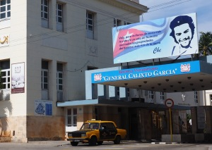 Hospital Calixto García in Havana