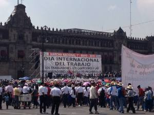 Mayday in the Zocalo