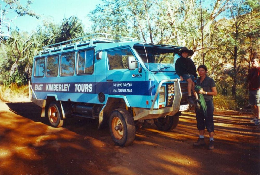 Transport into Purnululu NP