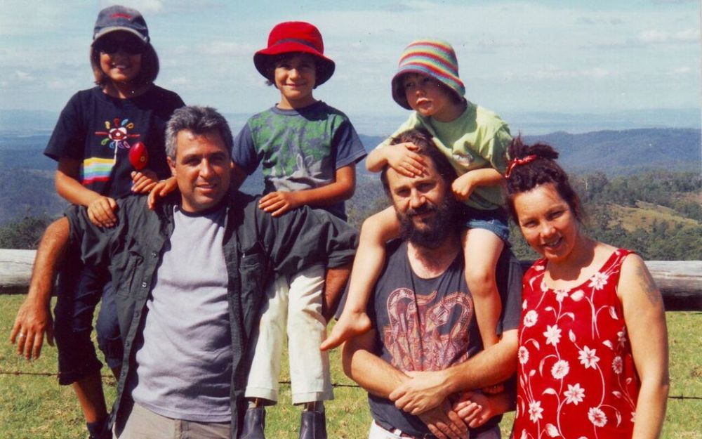 Phote of Ruby, Chris, Clare, Pete, Seamus and Sharon at Ravensthorne NP (NSW)