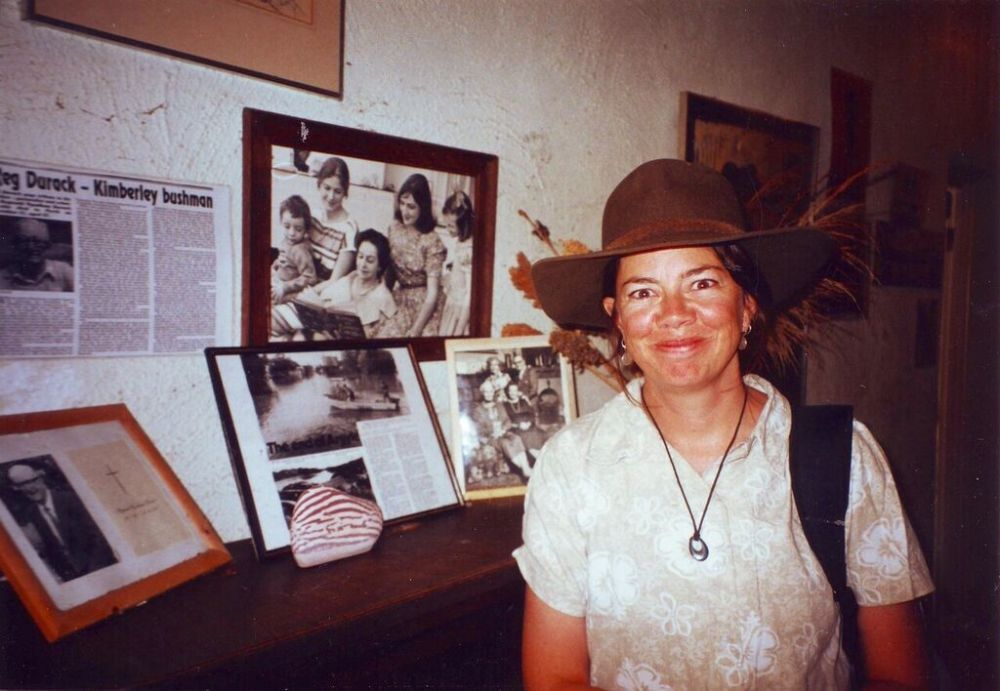 Susie at the Durack Homestead, near Lake Argyle, WA