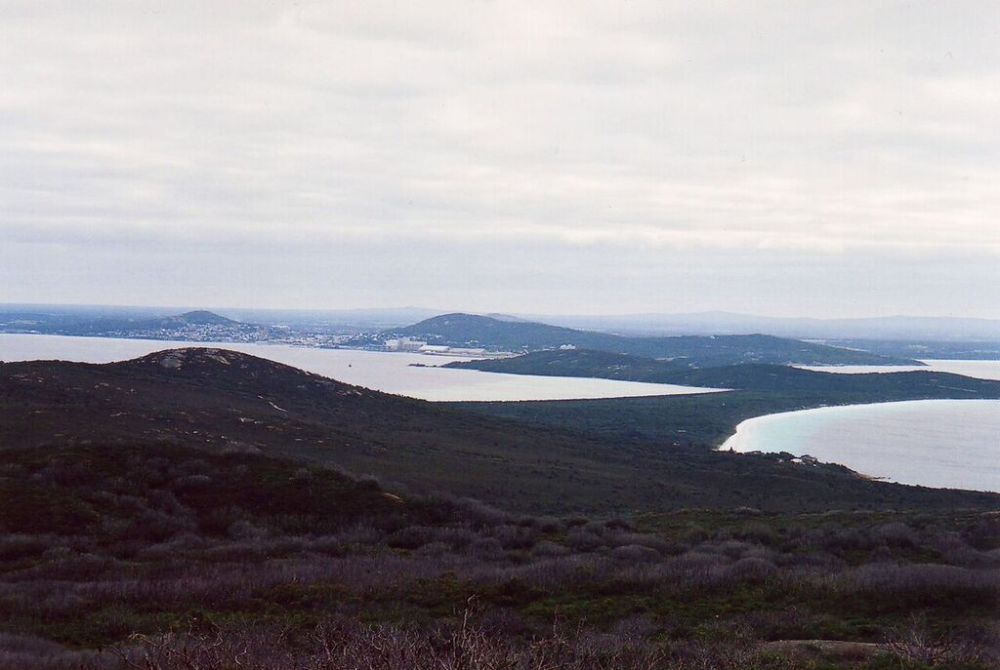 View across King Georges Sound to Albany