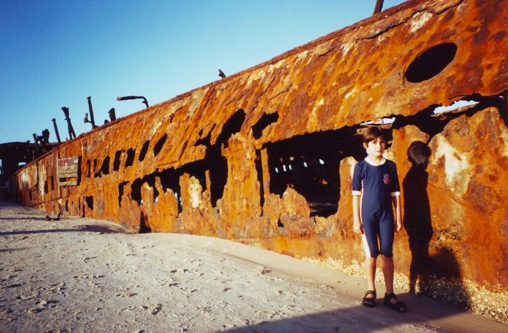 Wreck of the Maheno, Fraser Island, Queensland