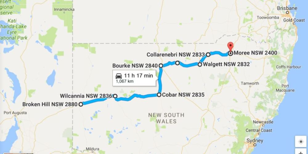 Our journey through outback NSW