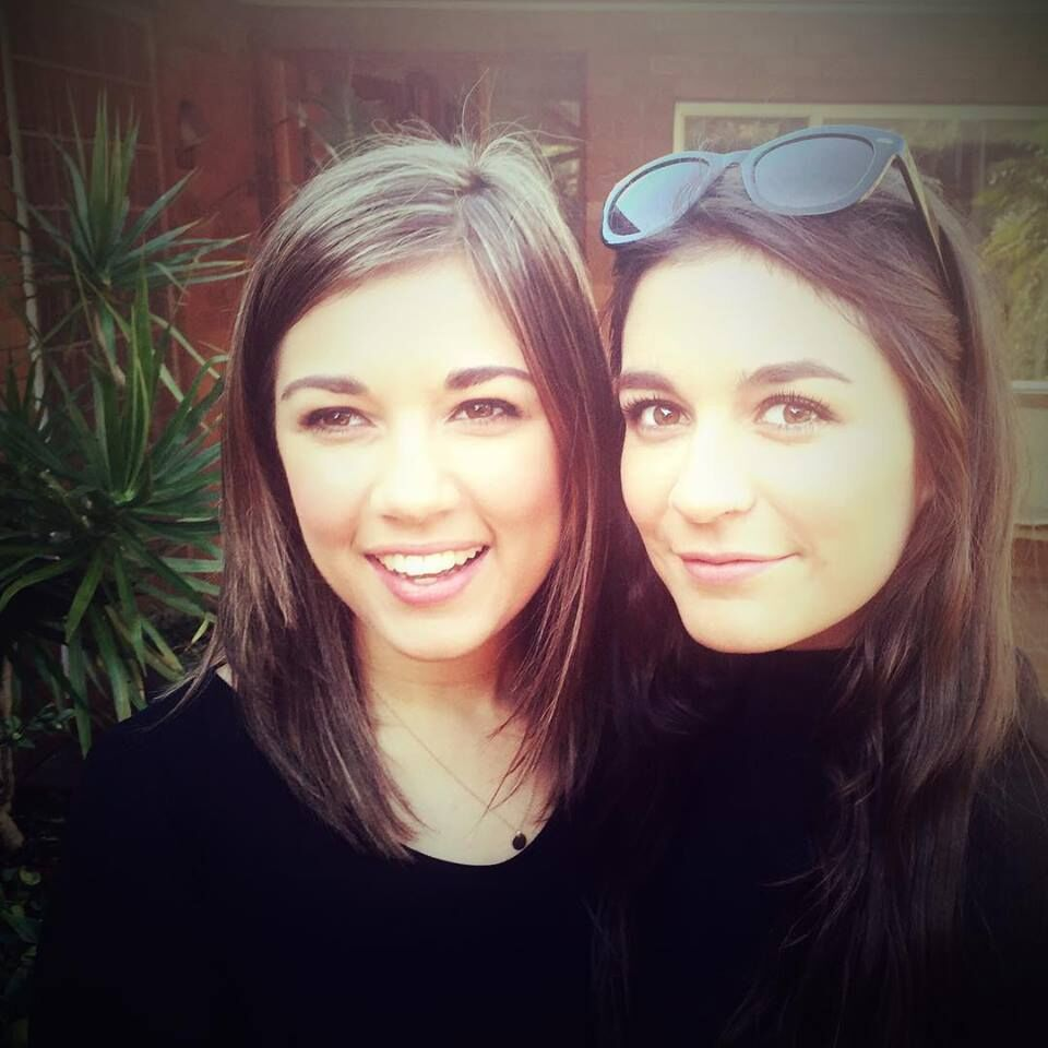Ruby and Clare in 2015